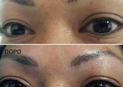 Eyelyner Infracigliare Superiore e Inferiore. Trucco Permanente Occhi. Rosy Di Dato Dermopigmentista
