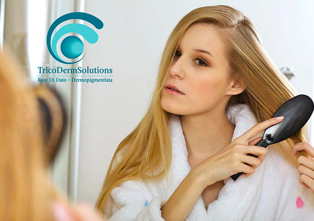 Emergenza caduta capelli | TRICODERMSOLUTIONS