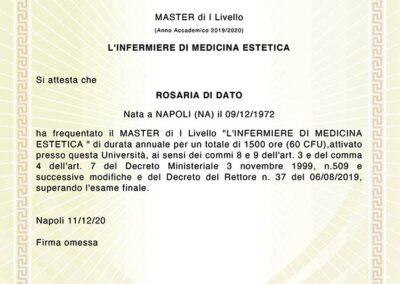 Diploma Master Infermiera Estetica | TRICODERMSOLUTIONS