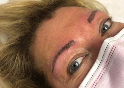 Dermopigmentazione Estetica Semipermanente: Sopracciglia Dopo | TRICODERMSOLUTIONS